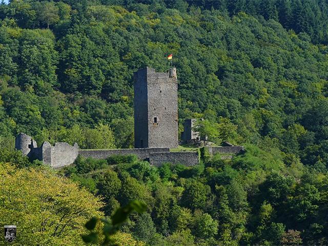 Burg Obermanderscheid, Manderscheider Oberburg in Rheinland-Pfalz