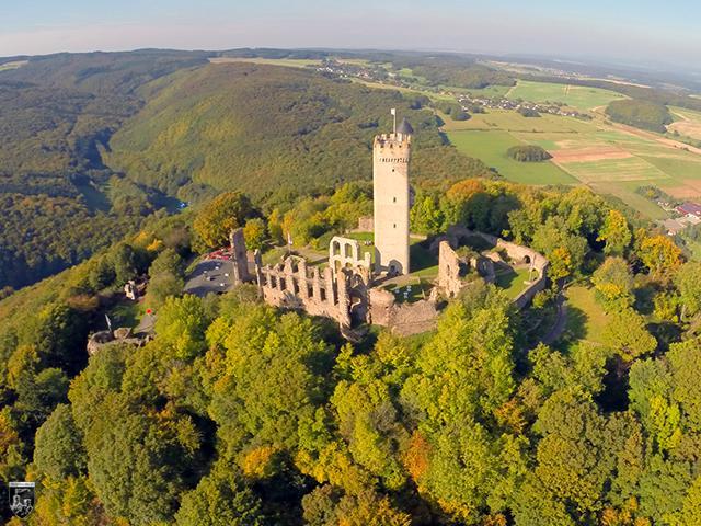 Burg Olbrück in Rheinland-Pfalz