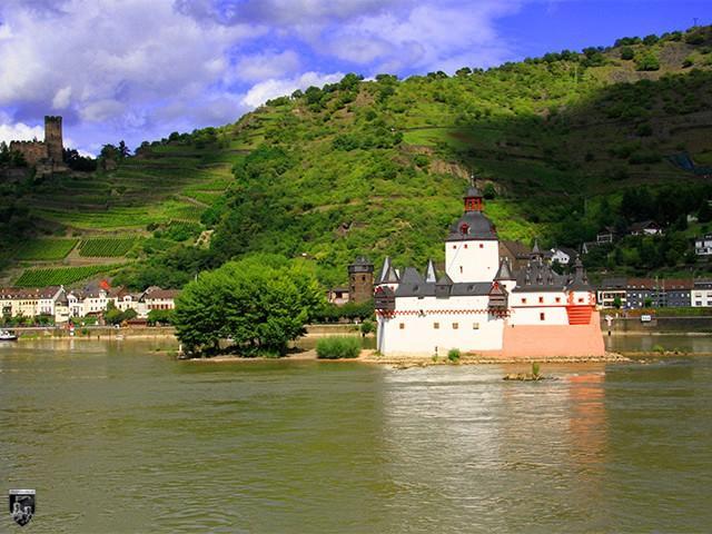 Burg Pfalzgrafenstein, Pfalz bei Kaub in Rheinland-Pfalz