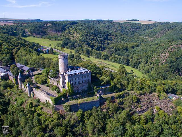 Burg Pyrmont in Rheinland-Pfalz