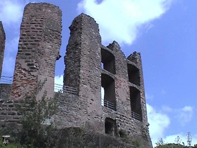 Burg Ramburg in Rheinland-Pfalz