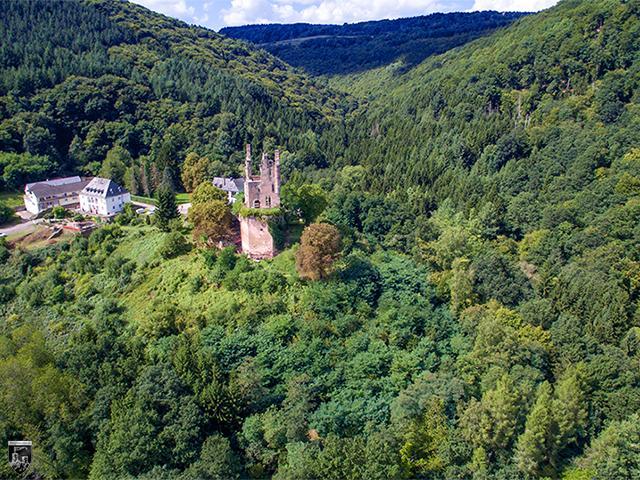 Burg Ramstein in Rheinland-Pfalz