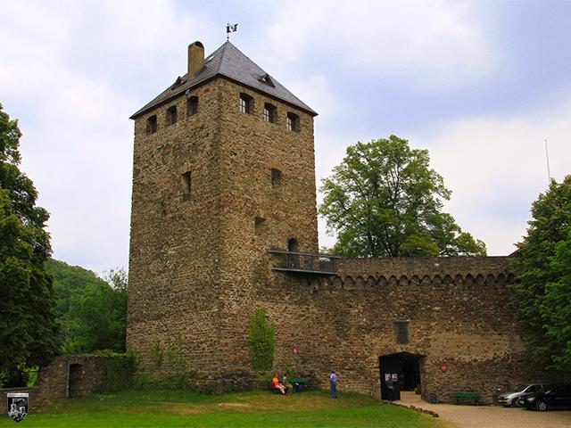 Burg Sayn in Rheinland-Pfalz