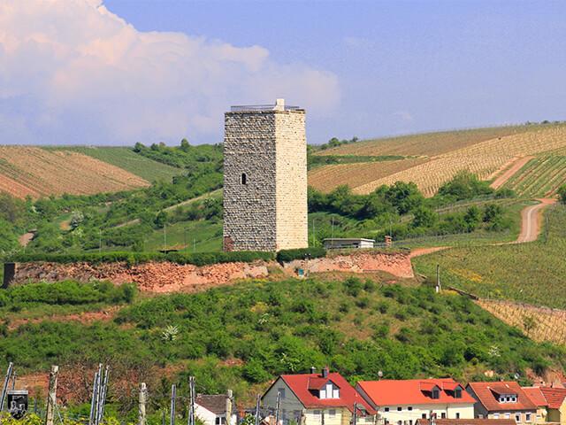 Burg Schwabsburg, Nierstein in Rheinland-Pfalz