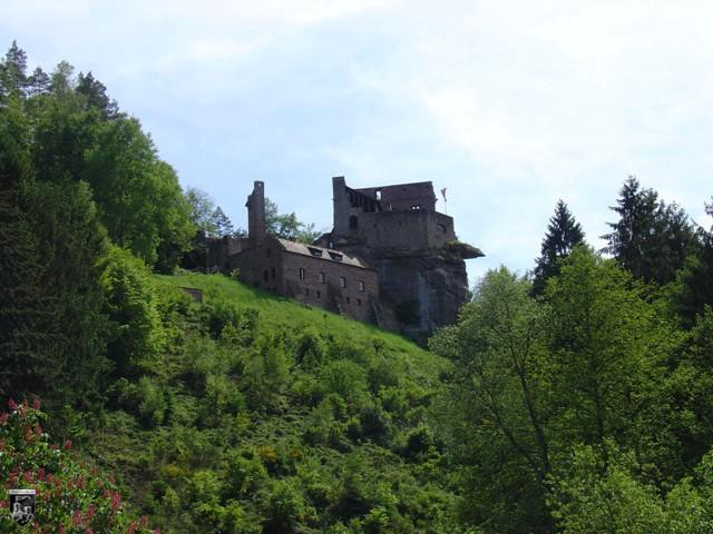 Burg Spangenberg in Rheinland-Pfalz