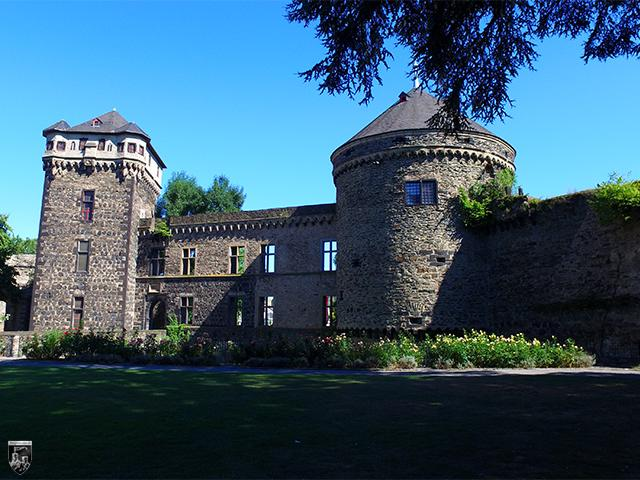 Stadtburg Andernach in Rheinland-Pfalz