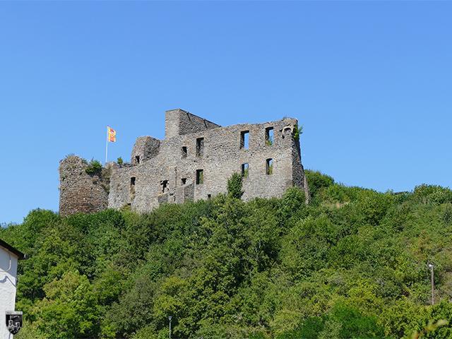 Burg Virneburg in Rheinland-Pfalz