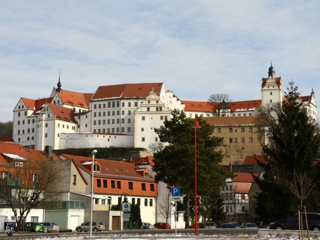 Schloss Colditz in Sachsen