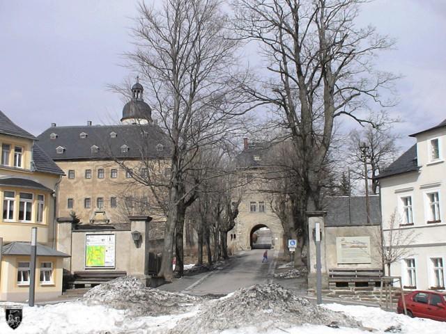 Burg Frauenstein in Sachsen