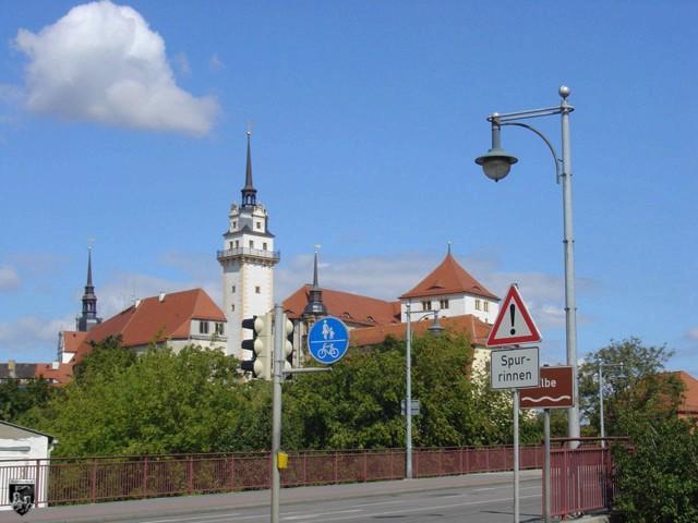 Schloss Hartenfels in Sachsen