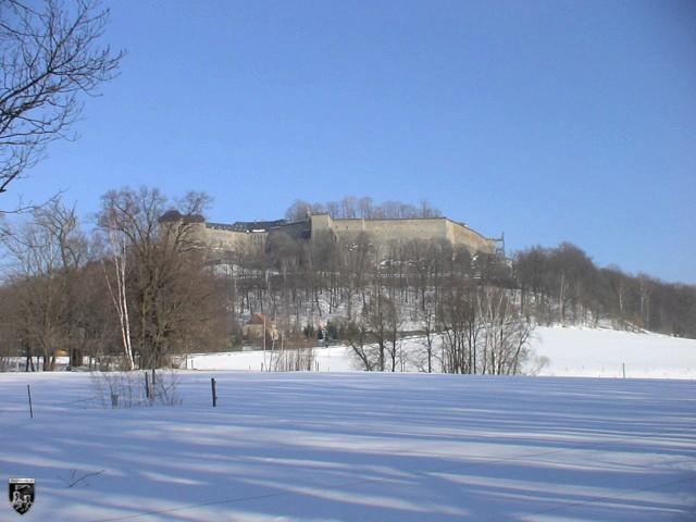 Burg und Festung Königstein in Sachsen