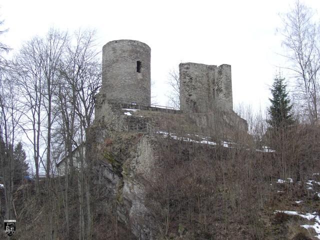 Burg Lauterstein, Niederlauterstein in Sachsen