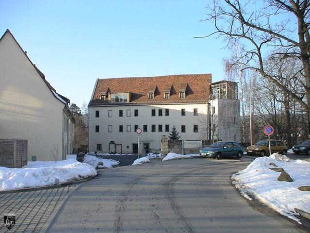 Burg Lohmen in Sachsen