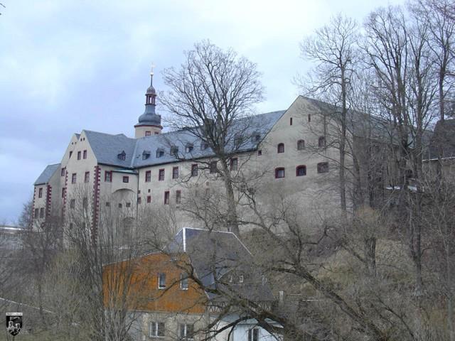 Schloss Pfaffroda in Sachsen