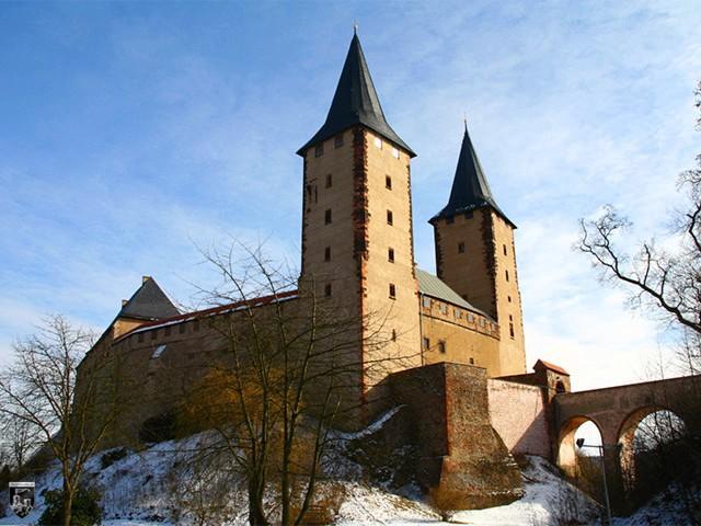 Schloss Rochlitz in Sachsen