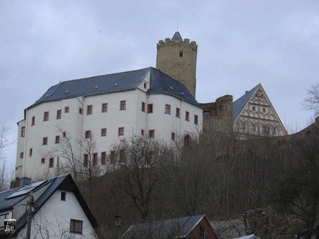 Burg Scharfenstein in Sachsen
