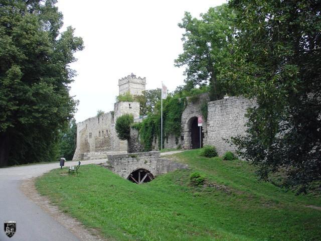 Burg Eckartsburg in Sachsen-Anhalt