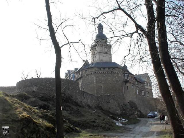 Burg Falkenstein in Sachsen-Anhalt