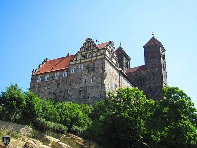 Schloss Quedlinburg in Sachsen-Anhalt
