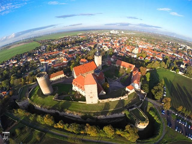 Burg Querfurt in Sachsen-Anhalt