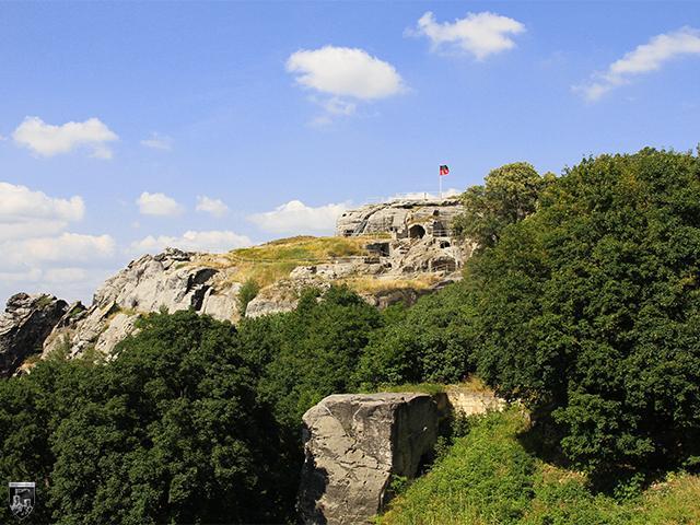 Burg und Festung Regenstein in Sachsen-Anhalt