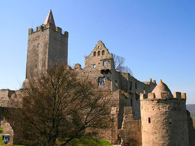 Burg Rudelsburg in Sachsen-Anhalt