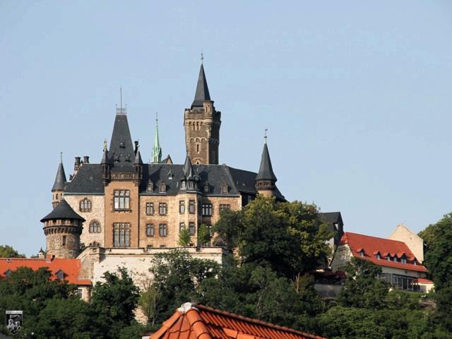 Schloss Wernigerode in Sachsen-Anhalt