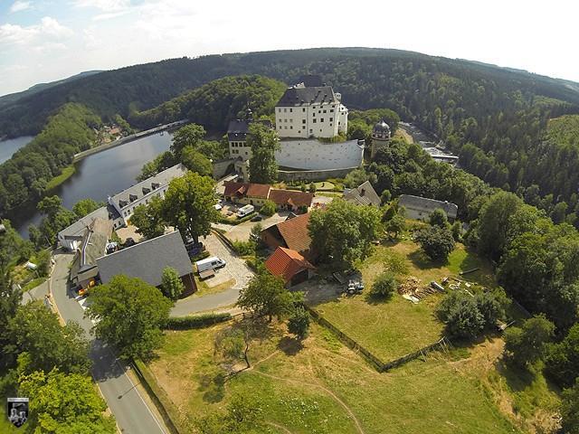 Burg und Schloss Burgk in Thüringen