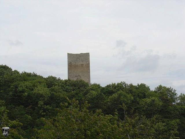Burg Hakenburg, Untere Sachsenburg in Thüringen