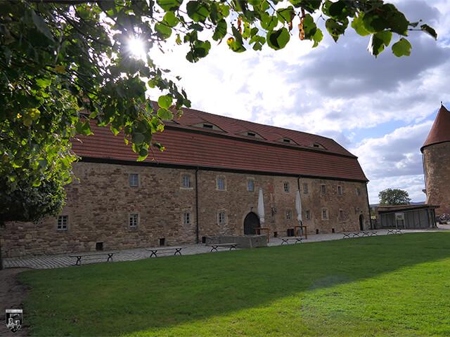 Festung Heldrungen - Der Marstall.