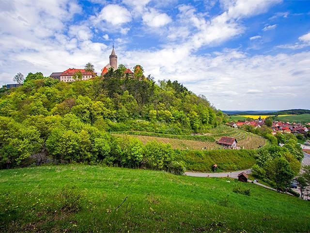 Burg Leuchtenburg in Thüringen