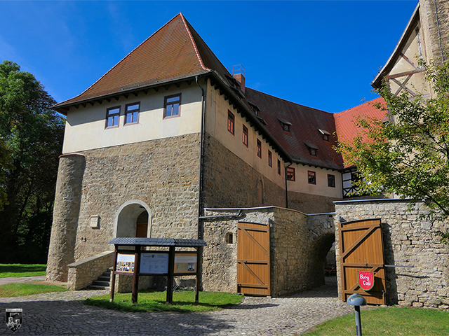 Wasserburg Niederroßla in Thüringen