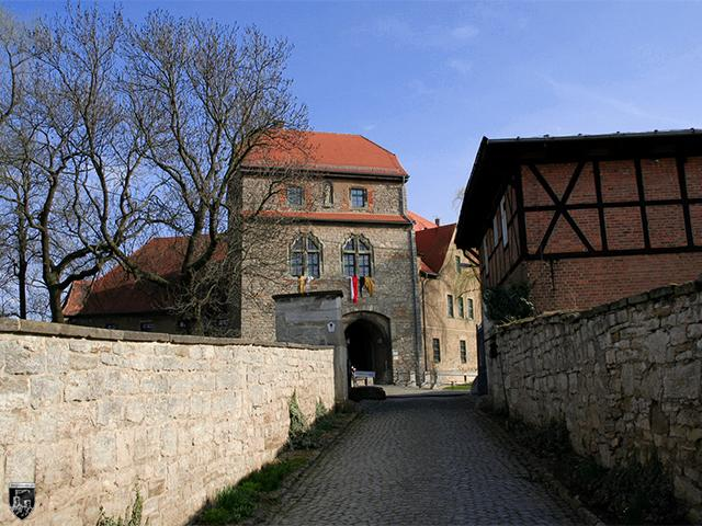 Ordensburg Liebstedt in Thüringen