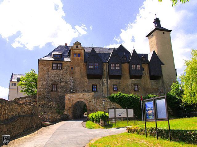 Burg Ranis in Thüringen