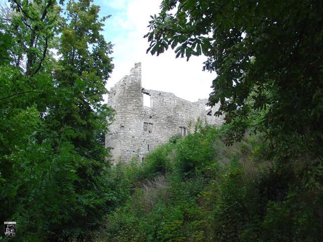 Burg Sachsenburg, Obere Sachsenburg in Thüringen