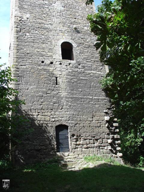 Burg Sachsenburg, Obere Sachsenburg