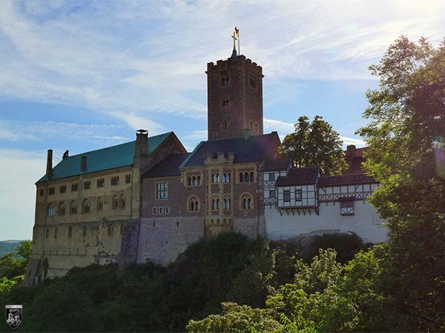 Burg Wartburg in Thüringen
