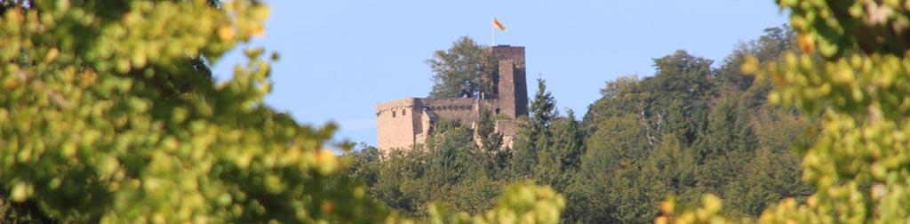 Burg Hohenbaden in Baden-Württemberg