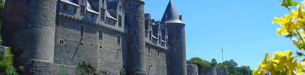 Die Burgen in Frankreich
