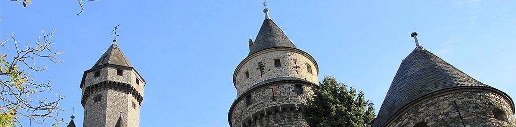 Die schönsten Schlösser und Burgen um Gießen