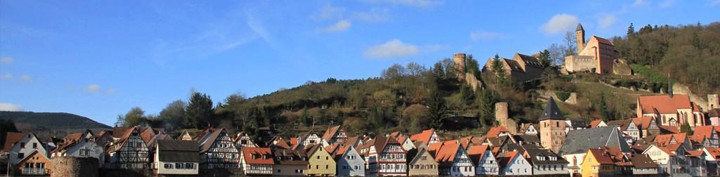 Die Burgen in Hessen