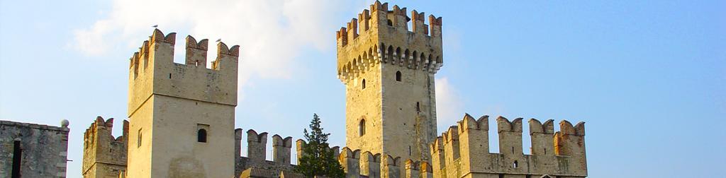 Die Burgen in Lombardei