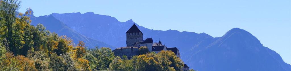 Die Burgen im Fürstentum Liechtenstein
