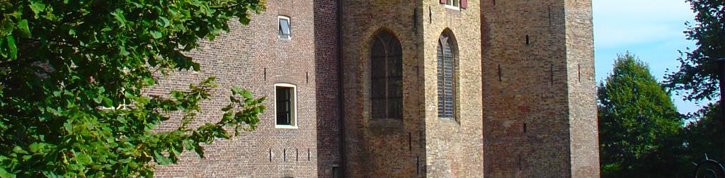 Die Burgen in Noord-Holland