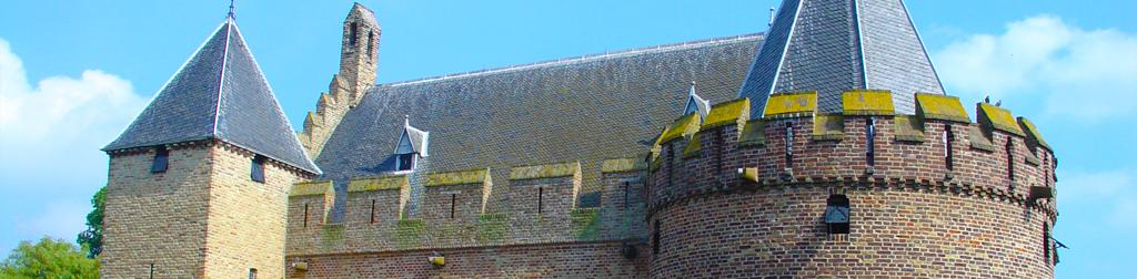 Die Burgen in den Niederlande
