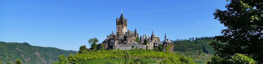 Die Burgen in Rheinland-Pfalz
