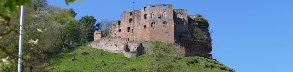 Die schönsten Schlösser und Burgen um Landau