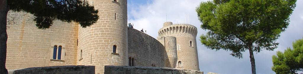 Die Burgen in Spanien