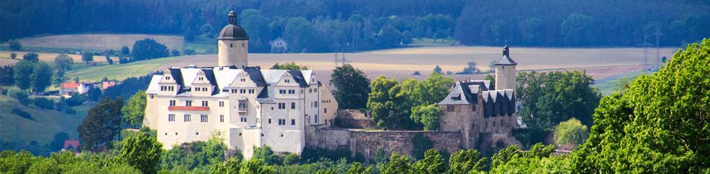 Burgen und Schlösser in Deutschland - Burg Ranis