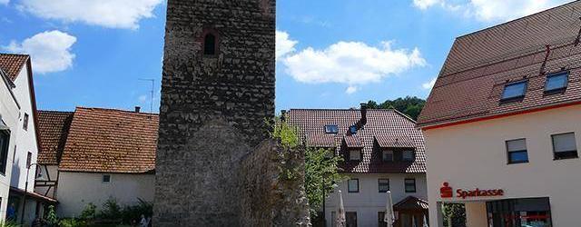 Burg Mönsheim, Obermönsheim